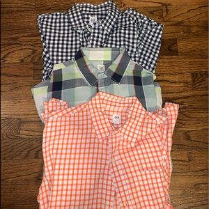 Gap Boys Button Down Shirts